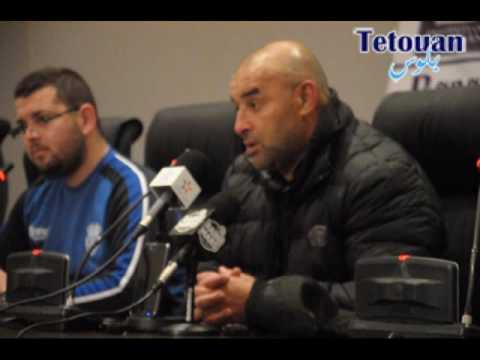 تفاصيل الندوة الصحفية للمدربين التي جرت عقبة مقابلة اتحاد طنجة والمغرب التطواني
