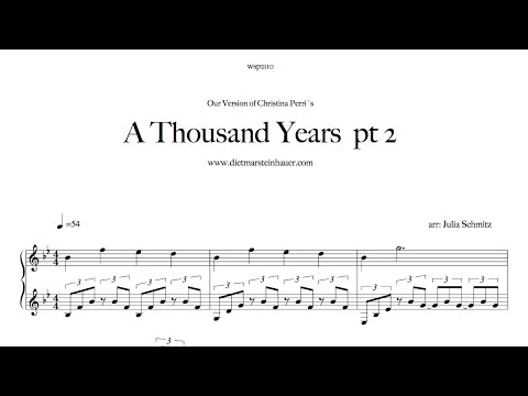 A Thousand Years  pt 2