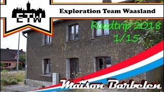 Maison Barbelen - Verlaten huisje in Luxemburg - Roadtrip 2018 pt.1/15