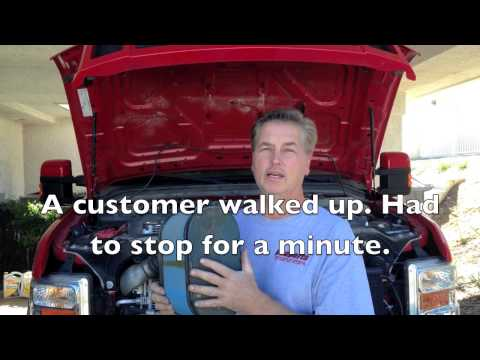 Ford 6.4 powerstroke diesel poor fuel economy. Regen explained and cause of fuel in oil.