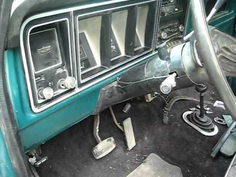 1978 Ford F150 Custom 351m Running Youtube