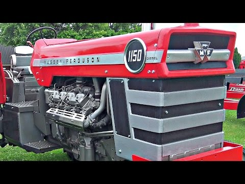 Massey Ferguson in the 1960's and 70's