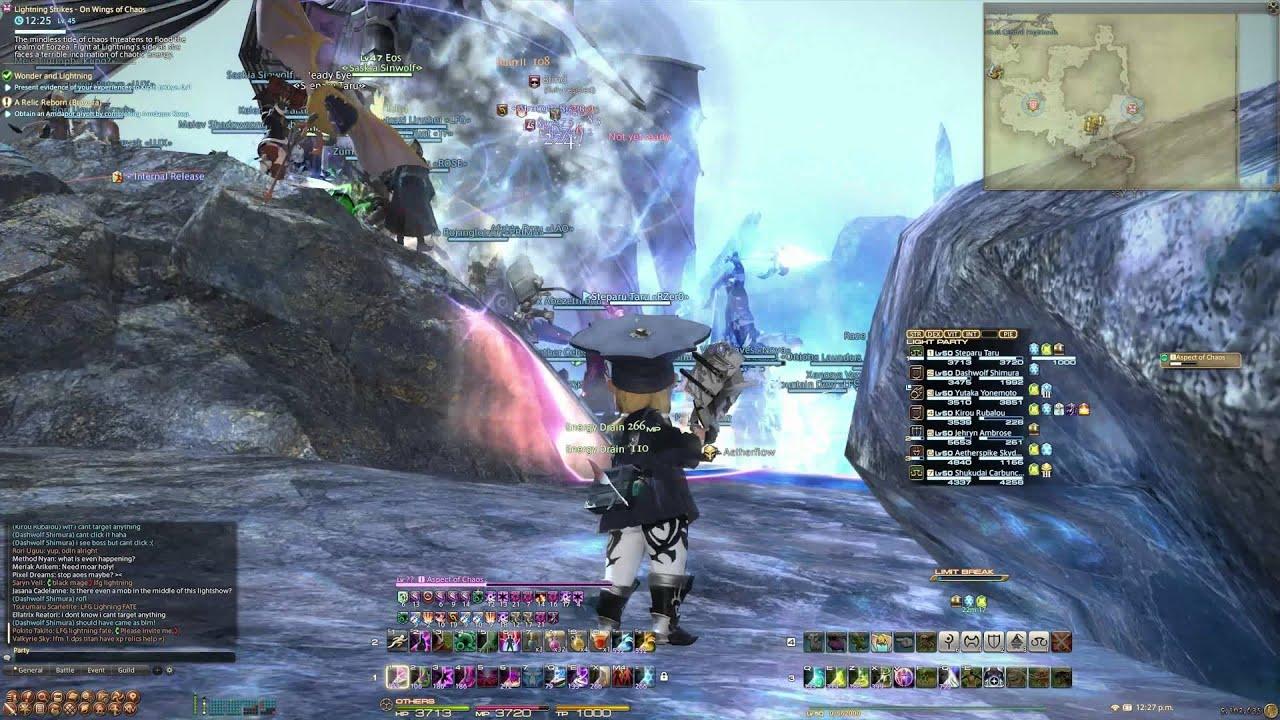 Final Fantasy XIV Lightning Strikes Chapter 4 Final Battle