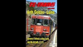 Arth Goldau - Luino in cabina di guida della RBe 540 OeBB cao.1
