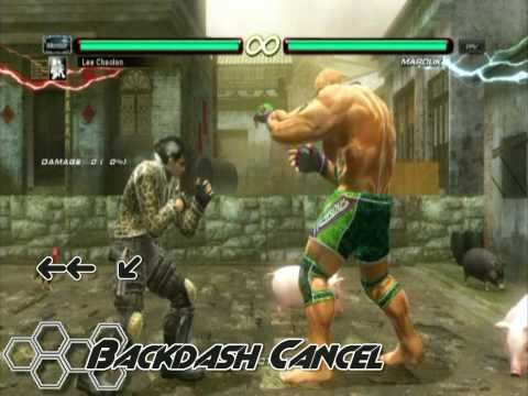 Tekken 6 BR - Sidestepping 101 &amp; Backdash Canceling
