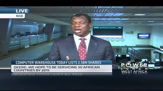 Computer Warehouse Group list on Nigerian Stock Exchange