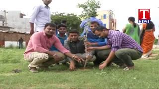 MLA Rekha Naik Participates in Haritha Haram Programme | Adilabad Dist  live Telugu