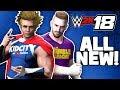 WWE 2k18 First Match with DadCity Lil Flash Thor Hulk and John Cena!