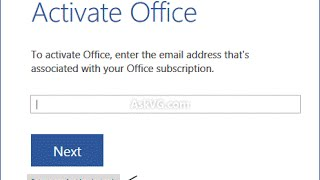 Microsoft Office Activation 2016