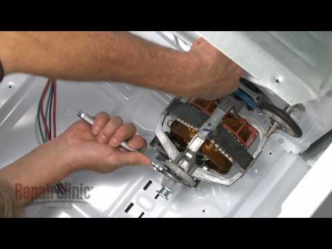 Drive Motor - Whirlpool/ Kenmore Dryer: Lint Filter on Top