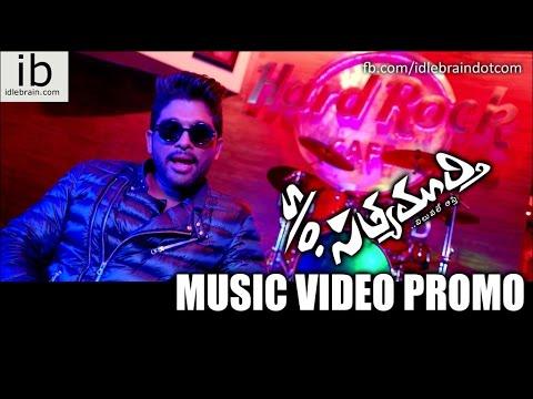 s/o Satyamurhy music video promo