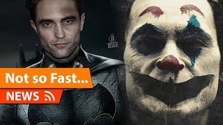 Joaquin Phoenix's Joker Wont Meet Robert Pattinson's Batman