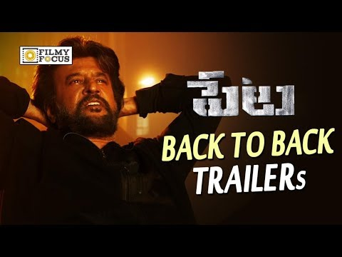 Petta Telugu Movie Trailers || Back to Back || Rajinikanth, Trisha - Filmyfocus.com