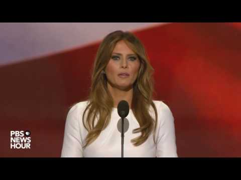 Melania Trump: Donald Trump 'will go to work for you'