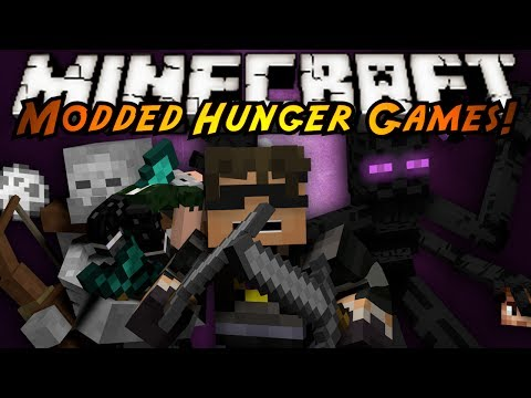 Minecraft: MODDED HUNGER GAMES! MUTANT CREATURES!