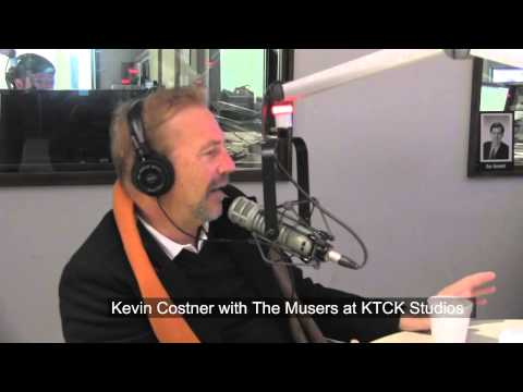 Oscar Winner Kevin Costner Stops By In Studio with the Musers.