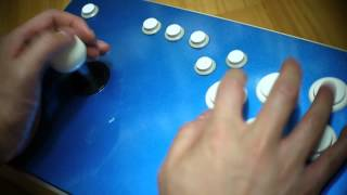 Sanwa JLW with Omron Reed Microswitch (D2RV-G) in the Alumicase