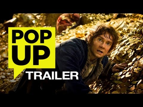 The Hobbit: The Desolation of Smaug (2013) POP UP TRAILER – HD Peter Jackson Movie