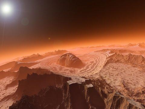 Марс Погода и атмосфера HD! Удивительный фильм про Марс!