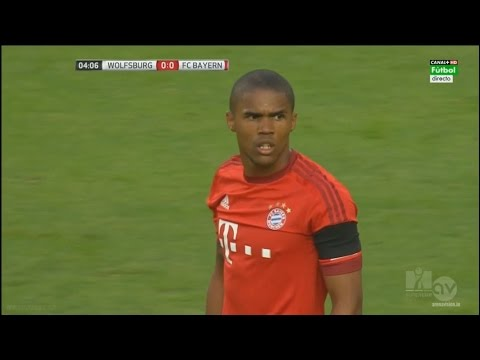 Douglas Costa vs Wolfsburg ● Super Cup 2015 ► 01/08/15 ||HD