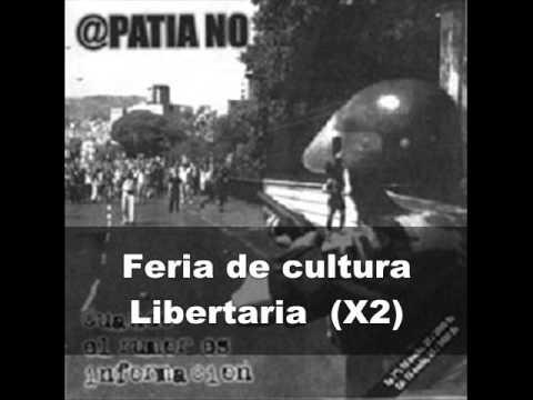 @patia No - Feria De Cultura Libertaria