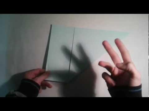 Origami para principiantes: #3 Como hacer un cuadrado perfecto