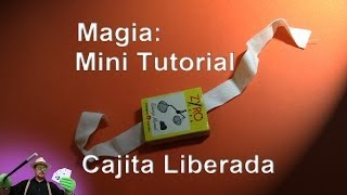 Tutorial: Magia: Caja Cerillas Escapista REVELADO (magick Trick REVEALED: escapist Matchbox )