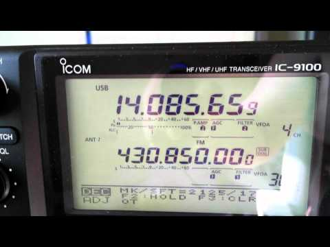 Icom IC 9100 + Dstar + 23cm - Nice Pics - Video