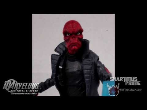 Marvel Legends Infinite Series Captain America The Winter Soldier Mandroid Wave 1 In Hand Images