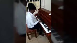 Temitope Aina _ Invention No. 14 in B flat by J.S Bach.