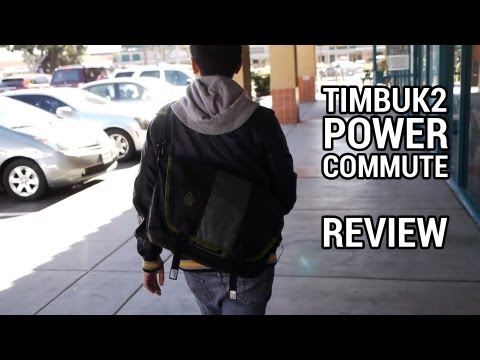 Timbuk2 Power Commute Messenger Bag Review