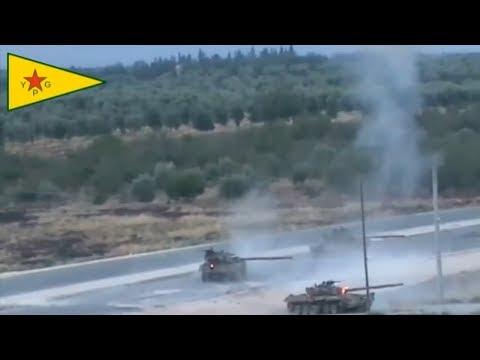 Сирийский танк Т72 без Д\З подбит из РПГ