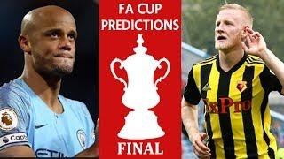 FA Cup Final Prediction / Premier League Week 38 Review and Fantasy Football League Winner Announced