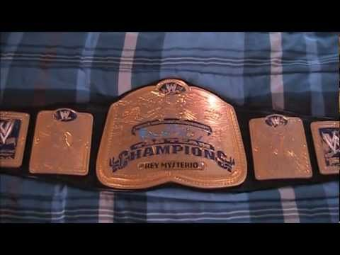 Real WWE Ring Used Smackdown Tag Team Championship Title Wrestling Belt JMar