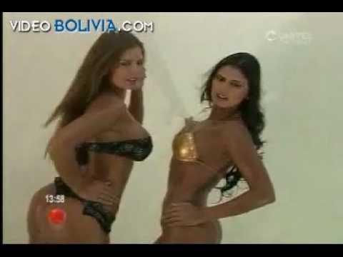 Las hermanas Priscila y Yáscara Leigue super sexy Bikini Viva Bolivia Carajo