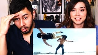 COMMANDO 2 Trailer Reaction Discussion | Jaby & Achara!