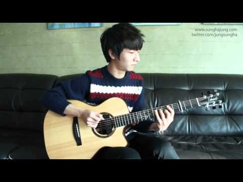 (bruno Mars) Locked Out Of Heaven -sungha Jung video