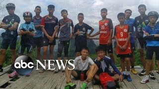 The moment when 12 boys, coach trapped inside Thai cave were found alive: 20/20 Part 2