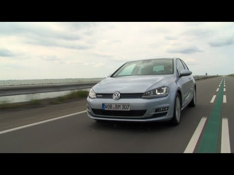 VW Golf 7 TDI BlueMotion Test
