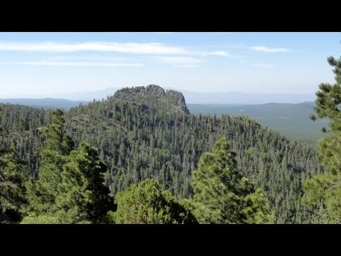 Bill Williams Mountain & Williams, Arizona RV Camping Scenic Picture Tour