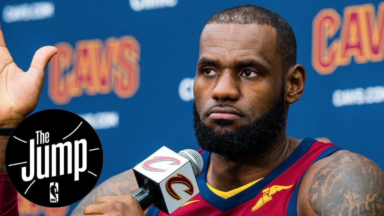 2017-18 NBA season LeBron James' best shot at MVP?   The Jump   ESPN