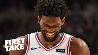 'There is no answer' for a healthy Joel Embiid – Stephen A. on 76ers vs. Raptors   First Take