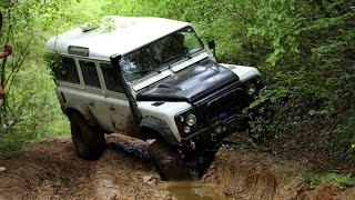 Extreme Offroad @Riva ***Defender TD5 & Discovery TD5 x3***