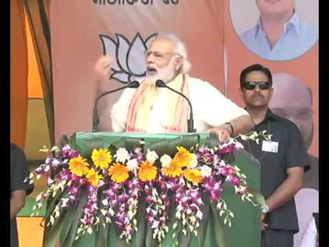 PM Narendra Modi kicks off Assam campaign with this Tinsukia rally