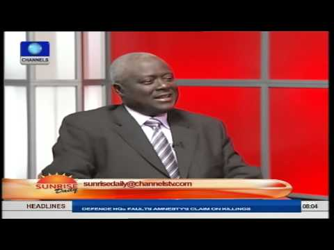 Sunrise Daily: Gen. Martin-Luther Agwai (RTD) Speaks On Security In Nigeria PT3