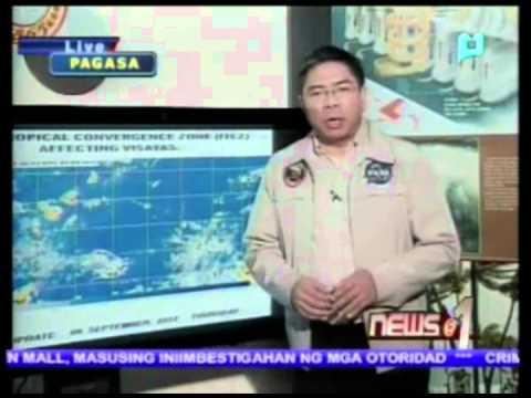 Intertropical Convergence Zone nakakaapekto sa Visayas Region