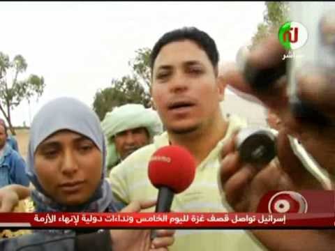 image vid�o  إحتجاج أهالي الشعال على وزير التشغيل