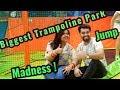 Biggest Trampoline Park In Delhi NCR | SkyJumper | Couple Of Vlogs!