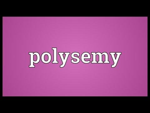 Header of polysemy