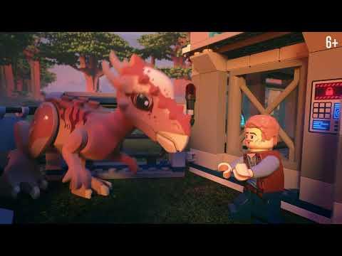 Побег стигимолоха из лаборатории - LEGO Jurassic World